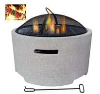 Lifestyle Adena Fire Pit - *MGO Round fire pit